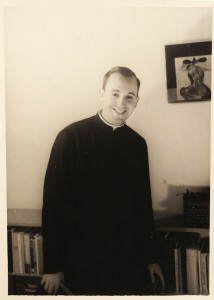 Pope Francis as Young Man